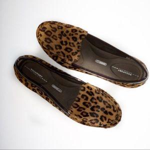 Rockport Adiprene by Adidas Loafers Sz 7 Leopard